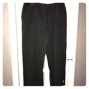 Danskin Now Drawcord Athletic Pants 🖤 2X 18/20W